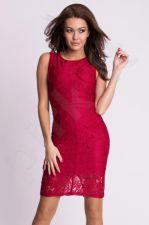 Emamoda suknelė - bordinė 9704-2