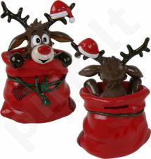 """Kalėdinė taupyklė """"Briedžiukas"""""""