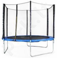 Batutas 8FT (244 cm) Sports Jump su tinklu ir kopėtėlėmis