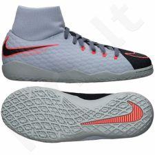 Futbolo bateliai  Nike HypervenomX Phelon III DF IC Jr 917774-400