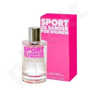 Jil Sander Sport For Women, tualetinis vanduo moterims, 50ml