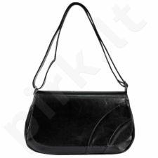 DAN-A T212 juoda rankinė iš natūralios odos , moteriška