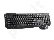 Bevielis rinkinys klaviatūra ir optinė pelė Natec PIGO