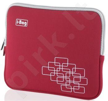 Dėklas neš. kompiuteriui iBOX i-BAG, 10,1'' Raudonas