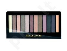 Makeup Revolution London Redemption Palette Romantic Smoked, kosmetika moterims, 14g