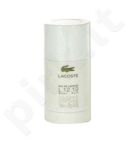 Lacoste Eau de Lacoste L.12.12 Blanc, pieštukinis dezodorantas vyrams, 75ml