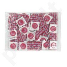 Braškinių prezervatyvų rinkinys (100 vnt)