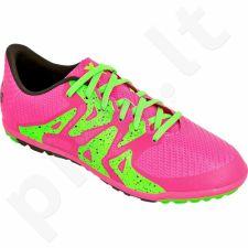 Futbolo bateliai Adidas  X 15.3 TF Jr S74664