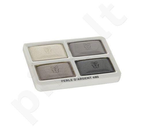 Guerlain Ombre Eclat 4 akių šešėliai, kosmetika moterims, 7,2g, (testeris), (480 Perle D´Argent)
