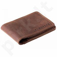 Odinė piniginė slim wallet BRODRENE SW02DB