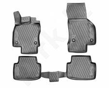Guminiai kilimėliai 3D VW Passat B8 2015->, sed., 4 pcs. /L65001G /gray