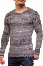 Šiltas megztinis CRSM - juodas 9502-1