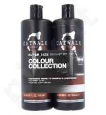 Tigi Catwalk Colour Collection Brunette Duo Kit rinkinys moterims, (750ml Catwalk Fashionista Brunette šampūnas + 750ml Catwalk Fashionista Brunette kondicionierius)
