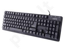 Klaviatūra Natec Hake USB, juoda