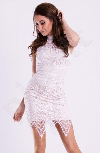 Emamoda suknelė - balta 12008-3