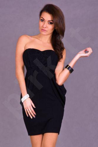 EMAMODA Suknelė - juodos spalvos 5412-1