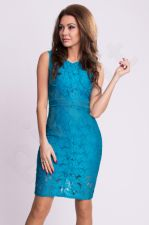 Emamoda suknelė - tamsiai mėlyna 9704-4