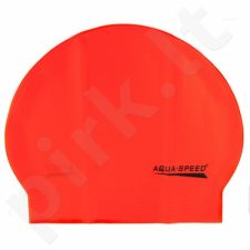 Maudymosi kepuraitė  Aqua-Speed Soft Latex oranžinis