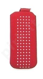 16-B1 SPOTTED universalus dėklas N6700 Telemax raudonas