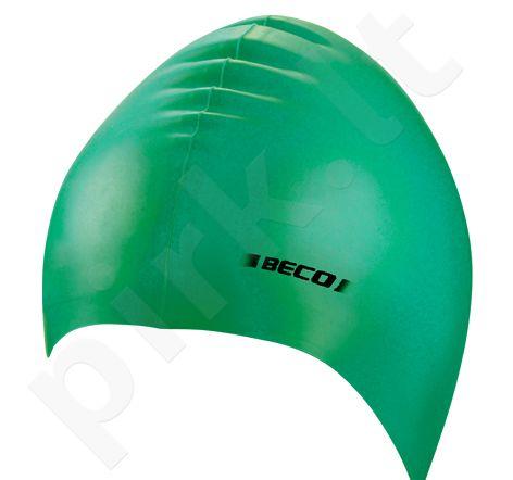 Kepuraitė plaukimui unisex silikoninė 7390 8 green