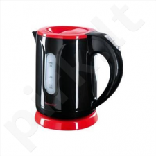 Kettle DomoClip DOD114  Standard kettle, Plastic, Black, 1100 W, 0.8 L, 360° rotational base