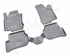 Guminiai kilimėliai 3D VW Jetta 2005-2010, 4 pcs. /L65026G /gray