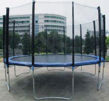 Akcija! Batutas 15FT (457 cm) Sports Jump su tinklu ir kopėtėlėmis