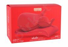 Pupa Whales, rinkinys makiažo paletė moterims, (Pupa Whale 4 21,8 g + Pupa Whale 1 5,6 g + Stand), (004) [pažeista pakuotė]