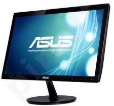 Monitorius Asus VS207T-P 19.5'' LED, wide, 5ms, DVI, Juodas