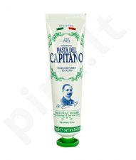 Pasta Del Capitano Natural Herbs Toothpaste, kosmetika moterims ir vyrams, 75ml