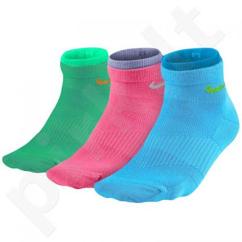 Kojinės Nike Lightweight Cotton Quarter 3 poros W SX4730-983