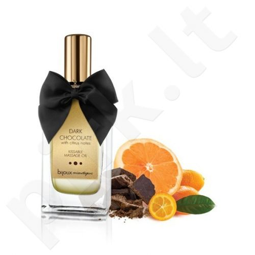 BIJOUX COSMÈTIQUES - DARK CHOCOLATE MASSAGE OIL