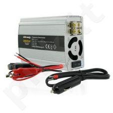Whitenergy Inverteris AC/DC 12V (automobilis) 230V, 350W USB jungtis