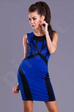 Emamoda suknelė -mėlyno atspalvio 8104-2