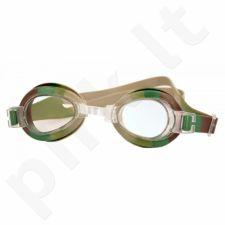 Plaukimo akiniai Rucanor Bublles II  Junior 29227 moro
