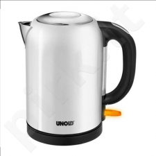 Unold Bullet Kettle 18121 Standard kettle, Stainless steel, White, 2200 W, 360° rotational base, 1.7 L