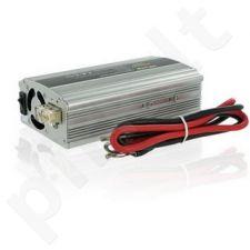 Whitenergy Inverteris AC/DC 12V (automobilis) 230V, 400W USB jungtis