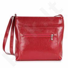 DAN-A T32 raudona rankinė, odinė, moterims