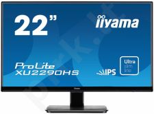 LCD 21,5'' Prolite XU2290HS-B1, IPS LED, Full HD, DVI, HDMI, Garsiakalbiai, blac