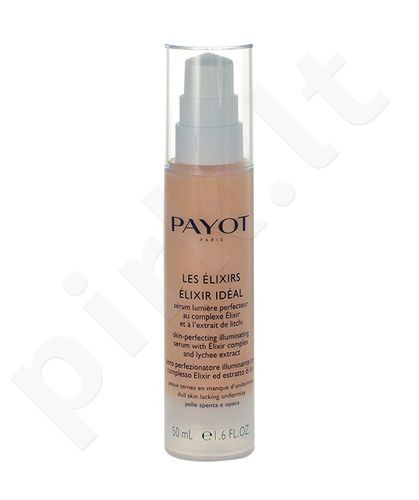 Payot Elixir Ideal Skin-Perfecting Illuminating serumas, kosmetika moterims, 50ml