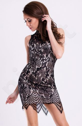 Emamoda suknelė -juoda 12008-4