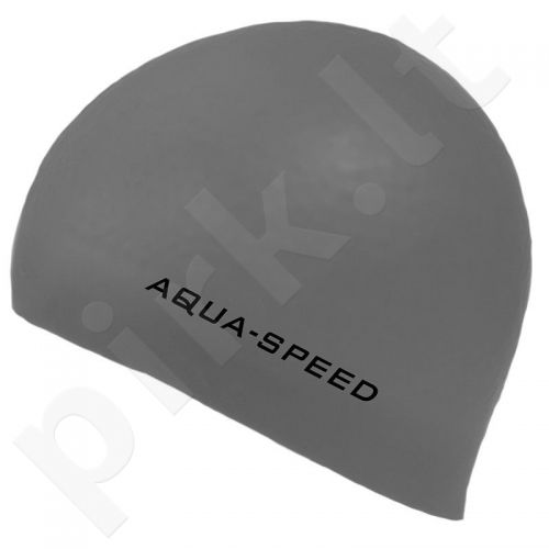 Maudymosi kepuraitė  Aqua-Speed silikoninė   3D Cap pilkas