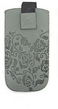 17-A FLOWERS universalus dėklas N700 Telemax pilkas
