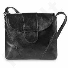 DAN-A T36 juoda rankinė iš natūralios odos , moteriška