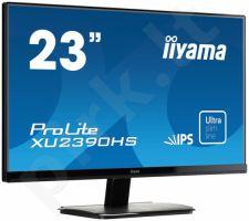 LCD 23'' Prolite XU2390HS-B1, IPS LED, Full HD, DVI, HDMI, Garsiakalbiai, black