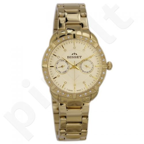 Moteriškas laikrodis BISSET Alfa BSBE13GIGX03BX