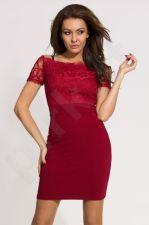 Emamoda suknelė - bordinė 9703-4