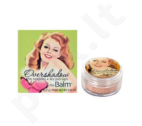 TheBalm Overshadow Shimmering All-Mineral akių šešėliai, kosmetika moterims, 0,57g, (Work Is Overrated)