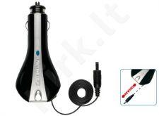 mini USB automobilinis įkroviklis Cellular juodas