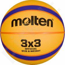 Krepšinio kamuolys Molten rubber 3X3 B33T2000